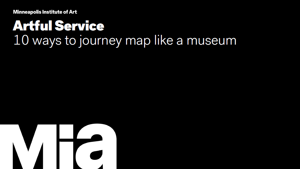 10 Ways to Journey Map Like a Museum