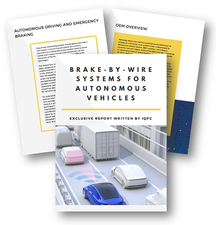 Report on brake-by-wire systems for autonomous vehicles