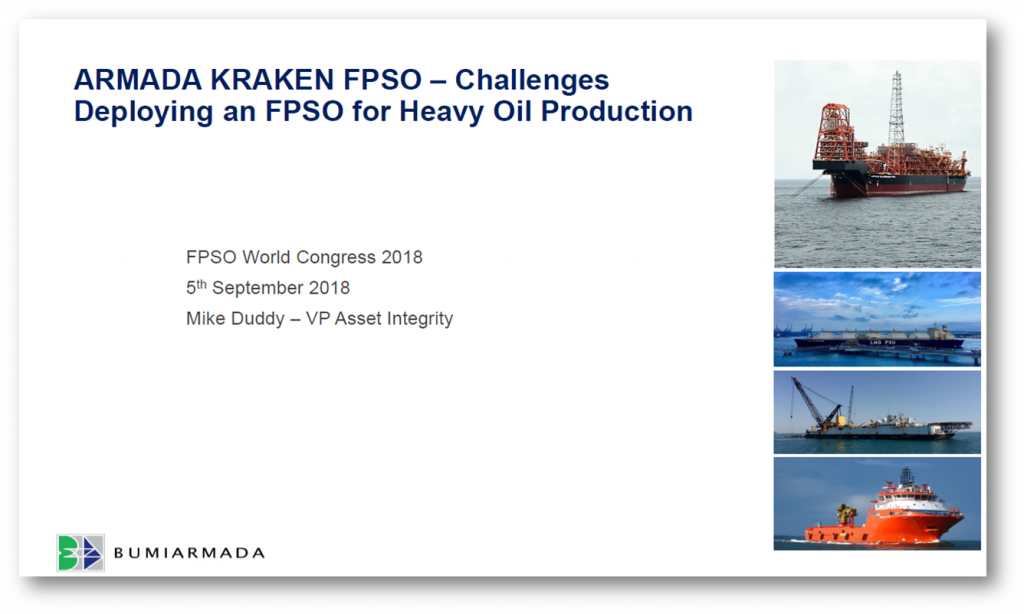 Armada Kraken FPSO - Challenges Deploying an FPSO for Heavy Oil Production