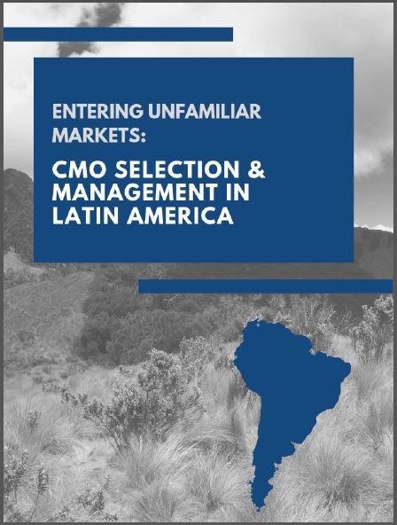 Entering Unfamiliar Markets: CMO Selection & Management in Latin America