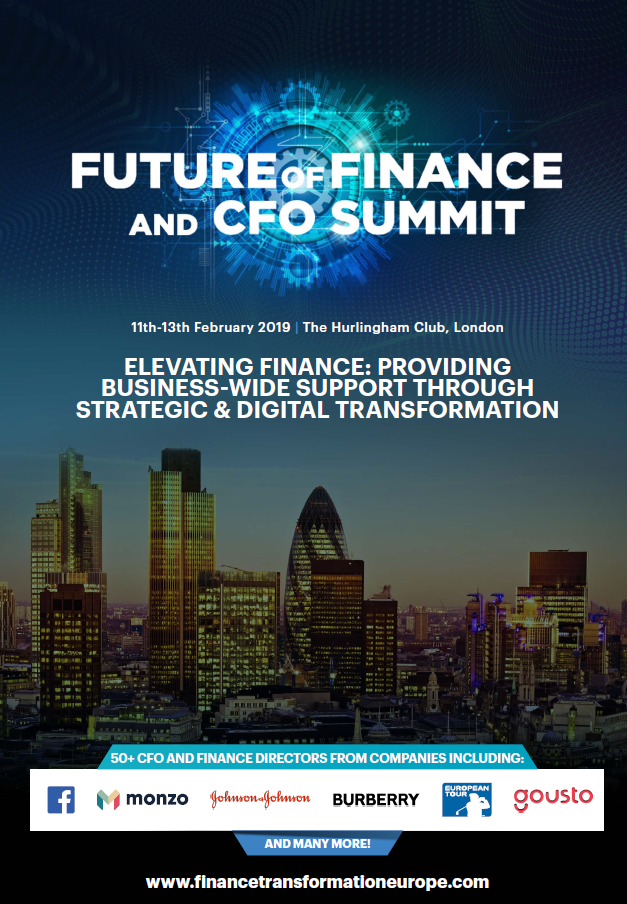 Future of Finance 2019 - spex - Full Event Guide
