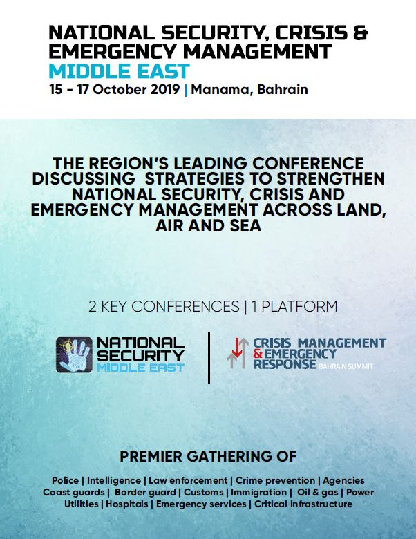 Agenda - National Security Middle East Summit 2019
