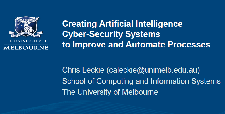 Creating Artificial Intelligence Cyber-Security Systems to Improve Efficiencies and Automate Processes