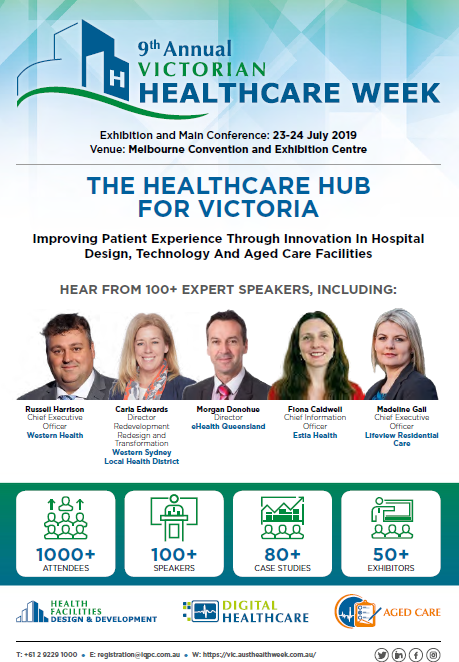 Victorian Healthcare Week 2019: FINAL EXPO AGENDA