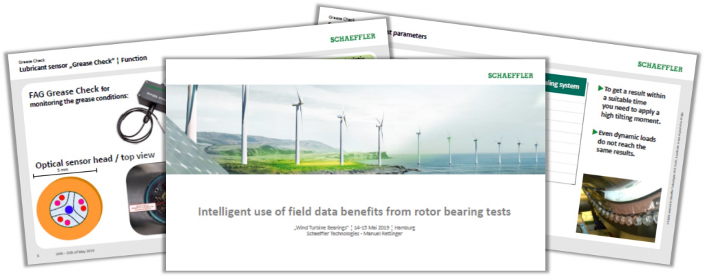 Schaeffler Technologies Presentation on Intelligent Use of Field Data Benefits from Rotor Bearing Tests