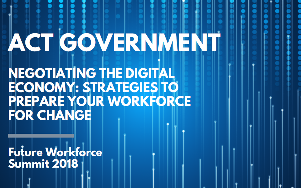 Negotiating the Digital Economy: Strategies to Prepare Your Workforce for Change