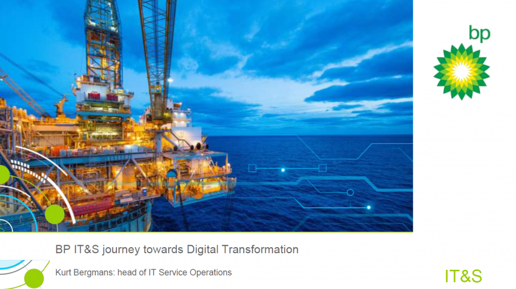 Read the Past Presentation - BP IT&S journey towards Digital Transformation