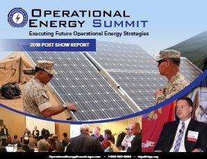 Operational Energy Post Show Report