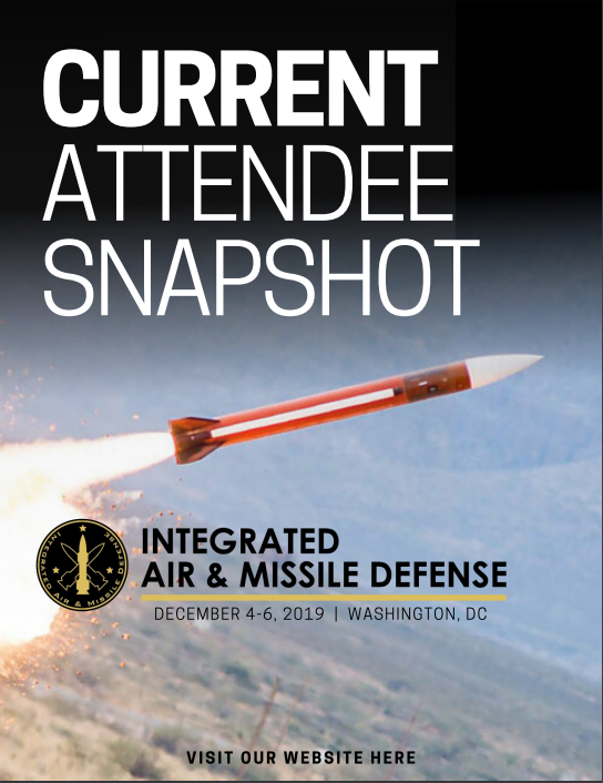 Integrated Air & Missile Defense Current Attendee Snapshot