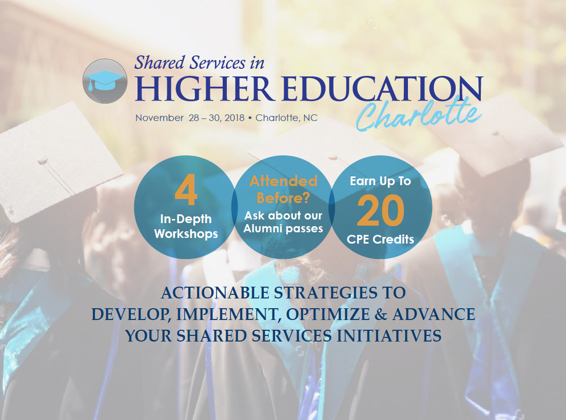 Shared Services for Higher Education- Charlotte