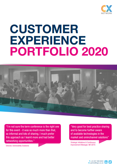 Customer Experience Portfolio: Business Development Pack 2020