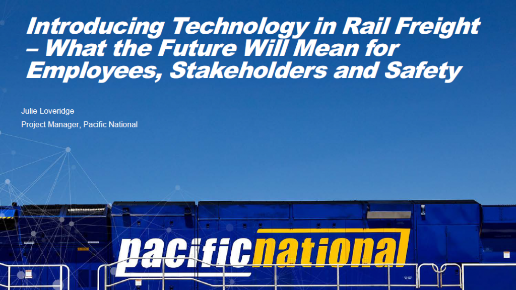 Introducing Technology in Rail Freight – What the Future Will Mean for Employees, Stakeholders and Safety