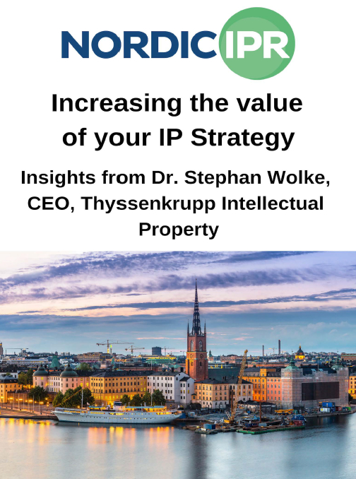 Increasing the value of your IP Strategy