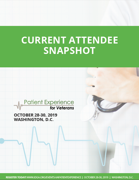 Patient Experience for Veterans Current Attendee Snapshot