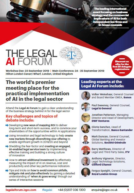 Download the Agenda l Legal AI Forum