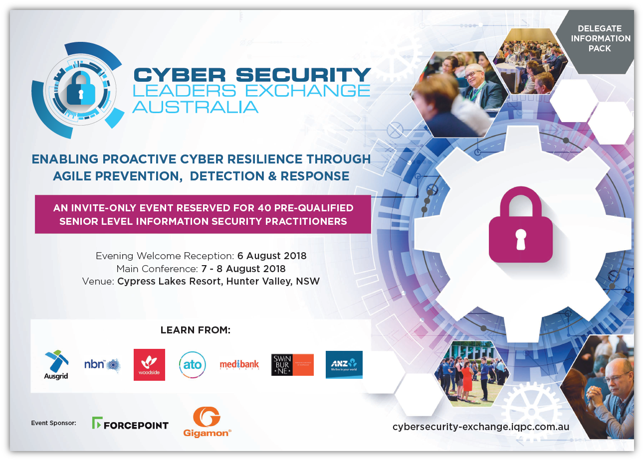 Download Past Delegate Information Pack - Cyber Security Leaders Exchange 2018