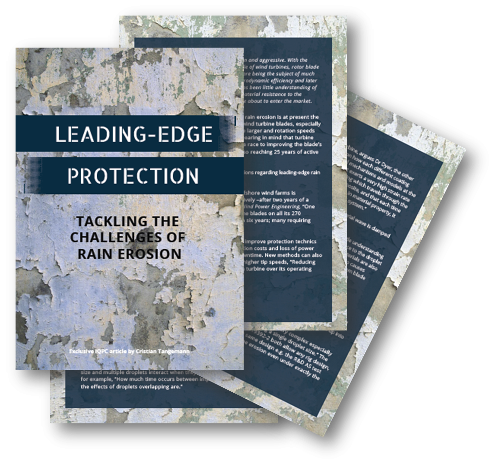 Leading-Edge Protection - Article on Tackling the Challenges of Rain Erosion