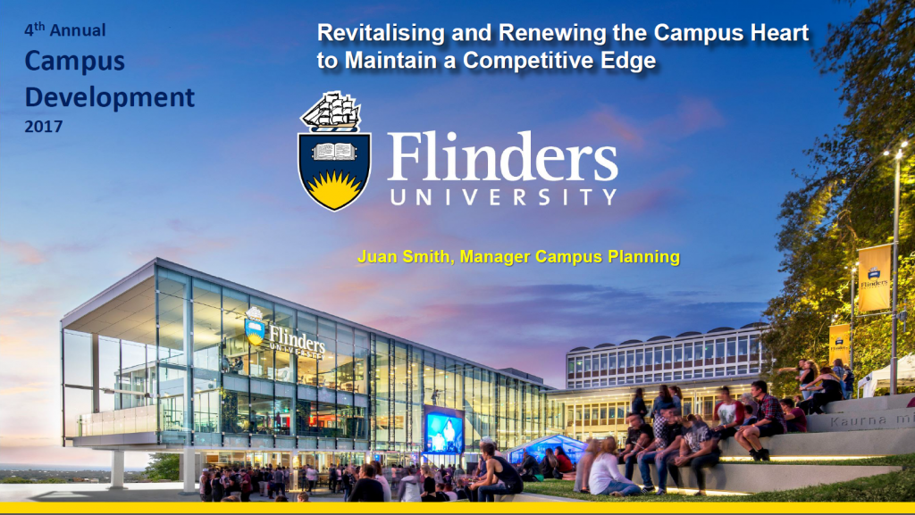 Revistalising and Renewing an Aging Campus to Maintain a Competitive Edge with Flinders University