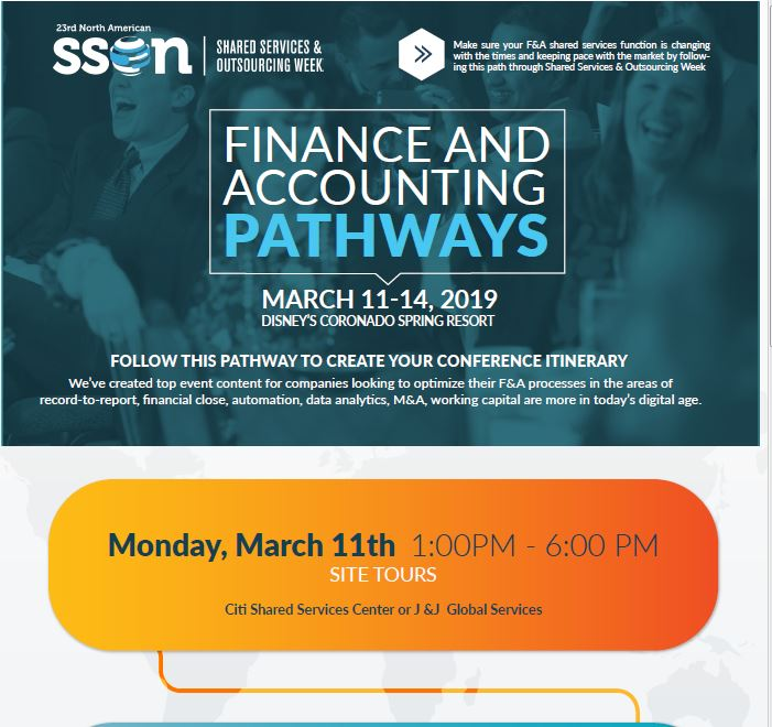 Finance & Accounting Attendee Pathway