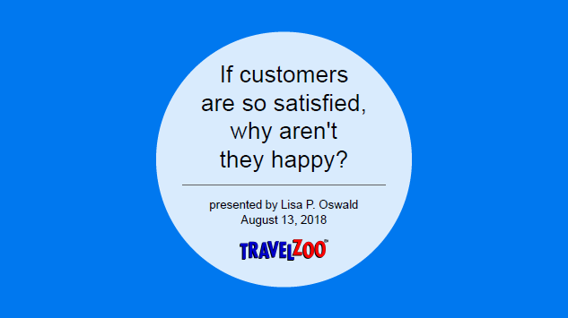 Presentation: Lisa P. Oswald,  Senior Vice President of Customer Service, Travelzoo
