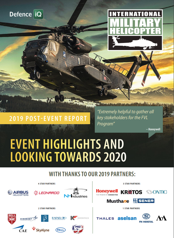 International Military Helicopter 2019 Post Show Report