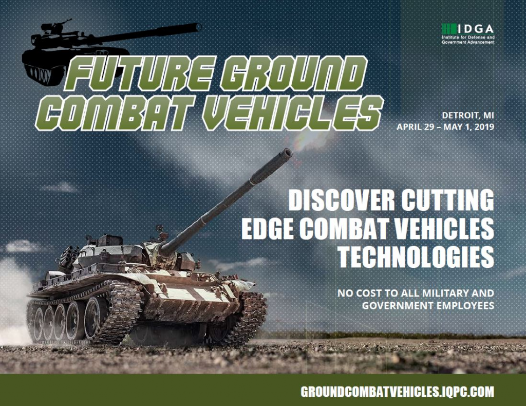 Future Ground Combat Vehicles 2019 Event Guide