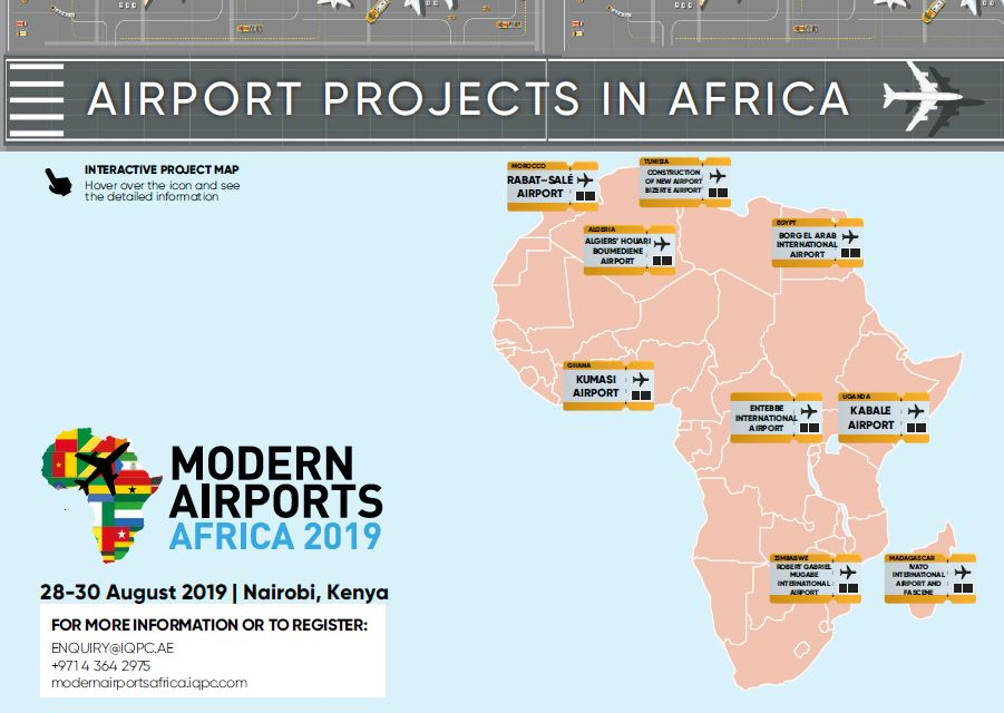 Interactive project map: Airport projects in Africa 2019