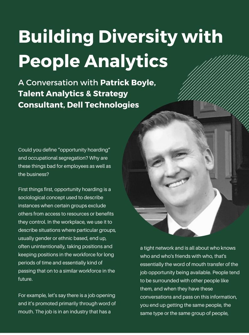Building Diversity with People Analytics