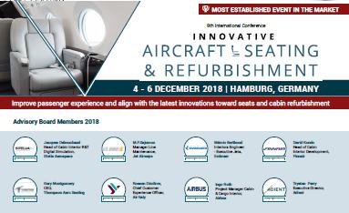 Partner Content: 9th International Confernce Innovative Aircraft Seating Agenda 2018