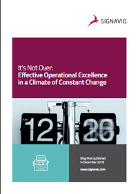 Effective Operational Excellence in a Climate of Constant Change