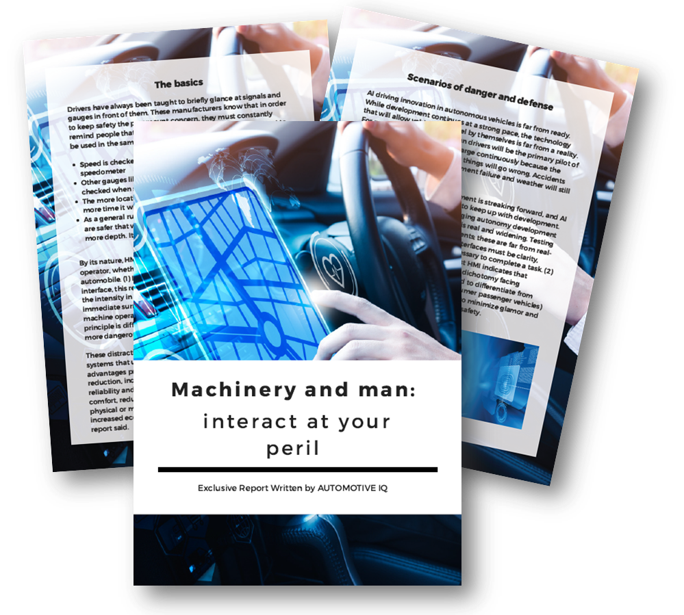 Machinery and man: Interact at your peril