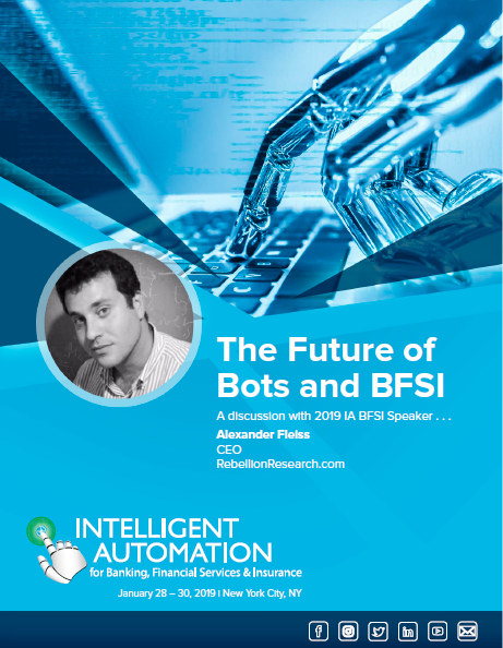 [TRANSCRIPT] The Future of Bots and BFSI: An Interview with Alexander Fleiss