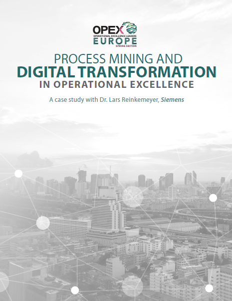 Process Mining and Digital Transformation in Operational Excellence