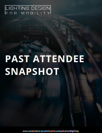 Lighting Design for Mobility Online Past Attendee Snapshot