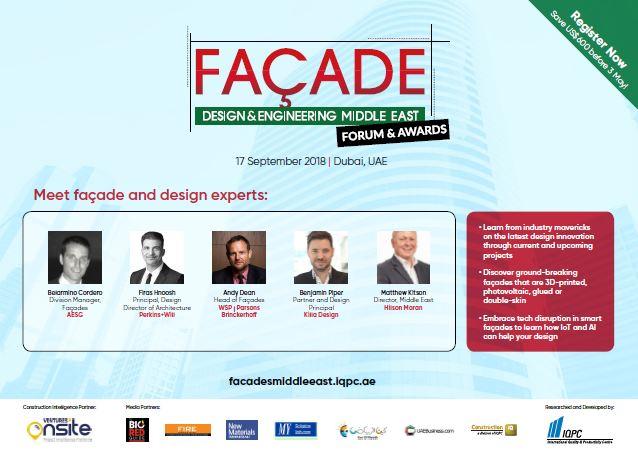 Agenda - Facade Design & Engineering Middle East Forum & Awards