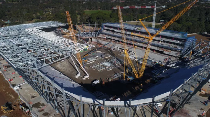 A game changer: an exclusive first-look inside Western Sydney Stadium