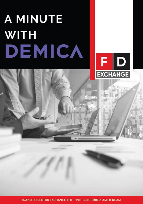 A Minute with Maurice Benisty, Chief Commercial Officer at DEMICA Interview
