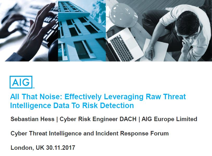 Effectively Leveraging Raw Threat Intelligence Data To Risk Detection