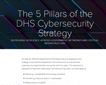 The 5 Pillars of the DHS's Cybersecurity Strategy