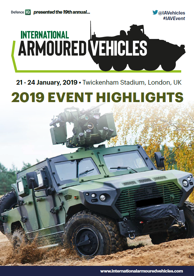 International Armoured Vehicles: 2019 Post Show Report