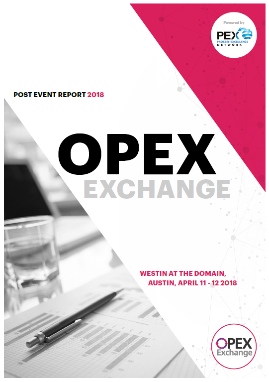 OPEX Exchange April 2018 - Post-Event Report
