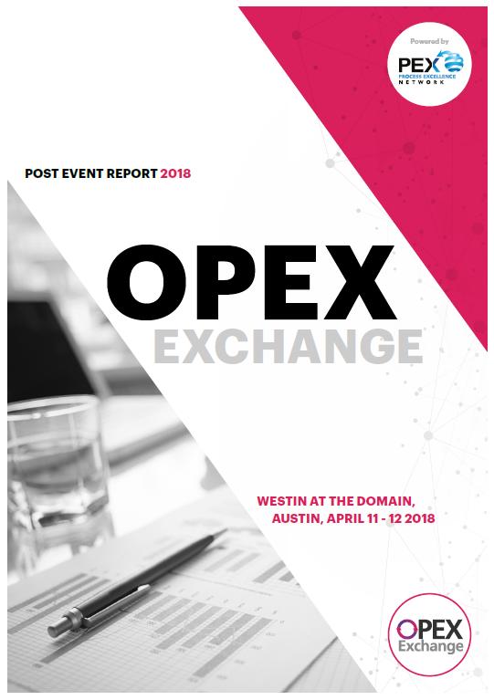OPEX Exchange April 2018 - Post-Event Report