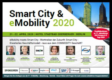 Agenda Smart City & eMobility Conference 2020