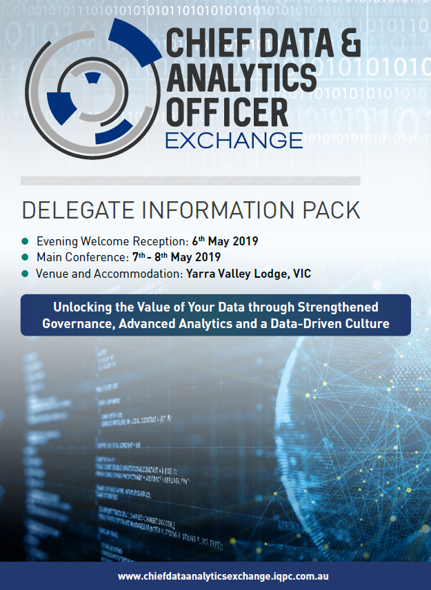 Chief Data & Analytics Officer Exchange 2019 Agenda