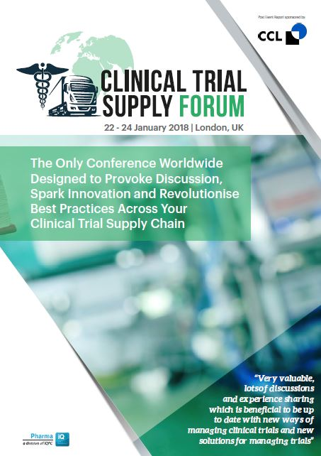 Clinical Trial Supply 2018 - Post Event Report