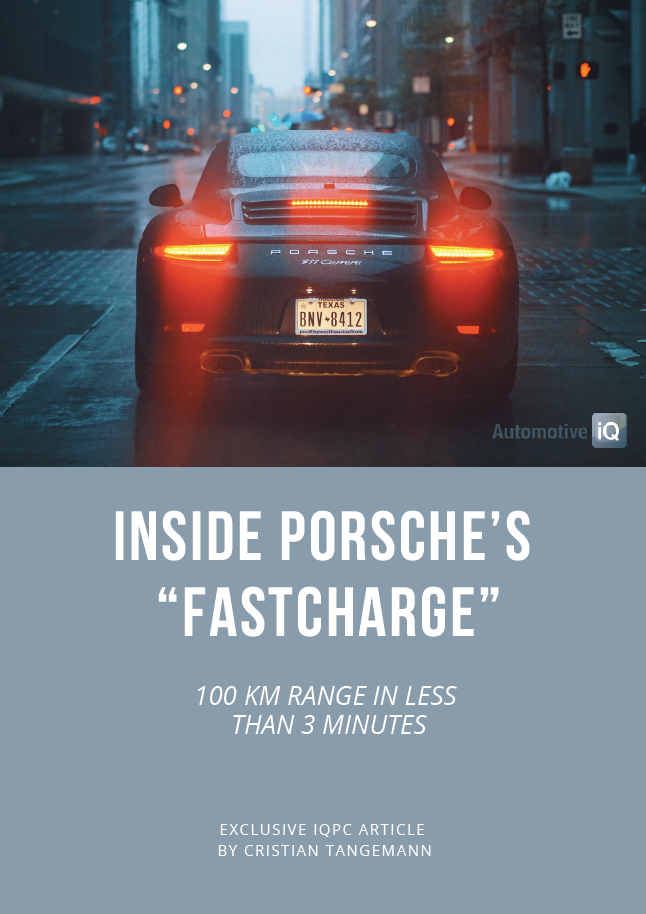 Report on Inside Porsches FastCharge - 100km Range in 3 Minutes