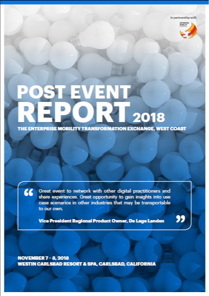2018 post event report