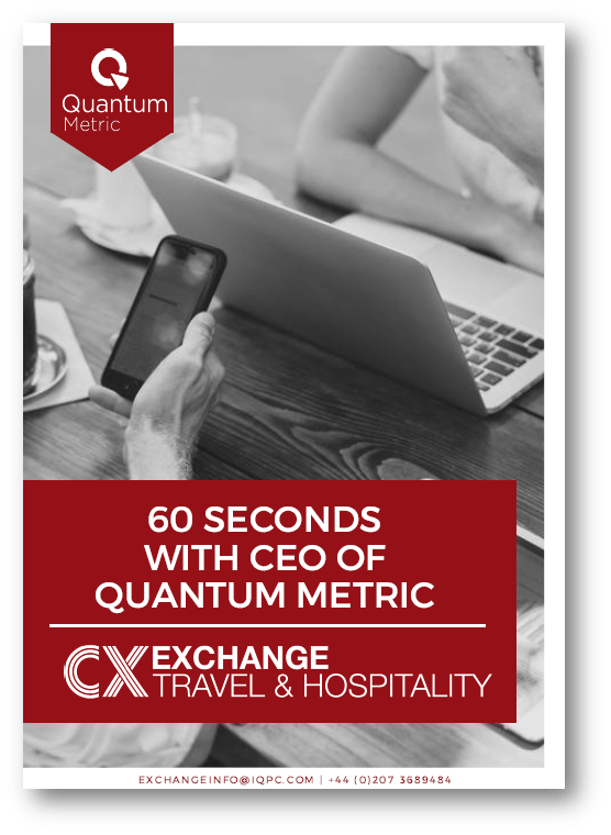 60 Second Interview with the CEO of Quantum Metric