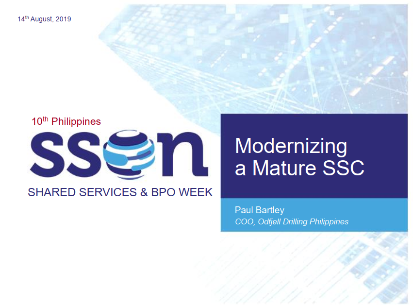 [Past Speaker Presentation] Modernizing a Mature SSC