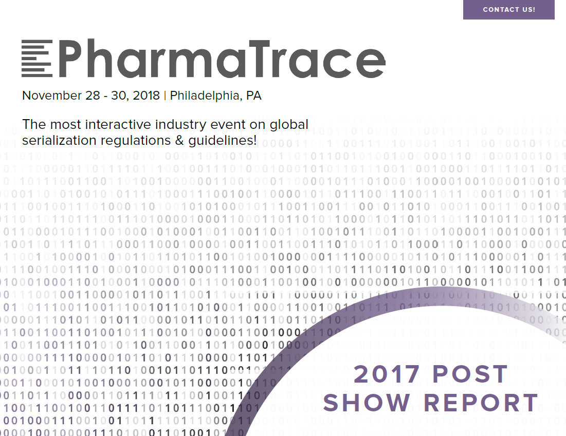 2017 Pharma Traceability Post Show Report